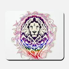 Lion Psychedelic Pop Art Mousepad