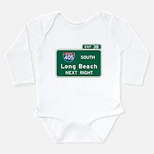 Unique Motorway Long Sleeve Infant Bodysuit