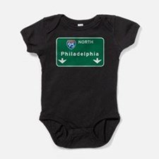 Unique Interstate 95 Baby Bodysuit