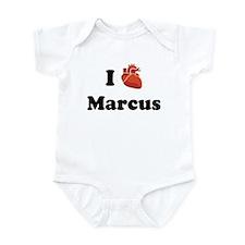 I (Heart) Marcus Infant Bodysuit