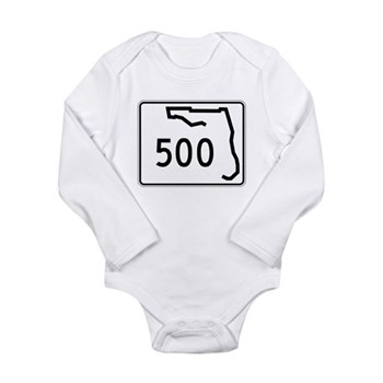 Route 500, Florida Long Sleeve Infant Bodysuit