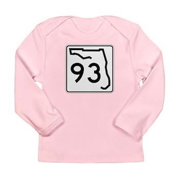 Route 93, Florida Long Sleeve Infant T-Shirt