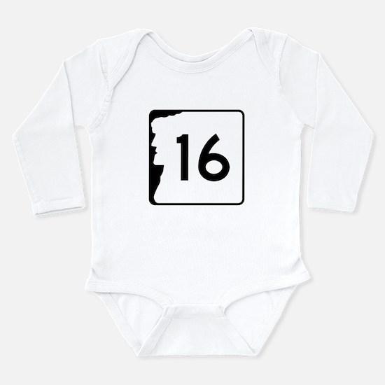 Cute Nashua Long Sleeve Infant Bodysuit