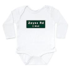 Zzyzx, CA (USA) Long Sleeve Infant Bodysuit