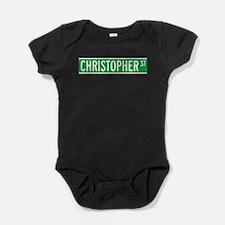 Unique Christopher Baby Bodysuit