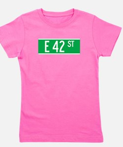 Cute 42nd street Girl's Tee