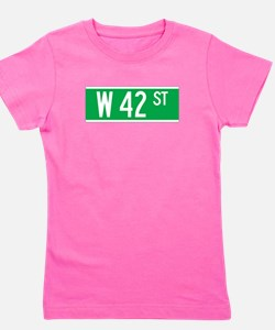 Unique 42nd street Girl's Tee