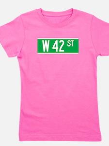 Unique 42 name Girl's Tee