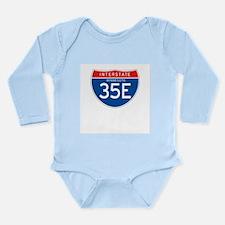 Interstate 35E - MN Long Sleeve Infant Bodysuit
