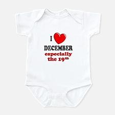 December 19th Infant Bodysuit