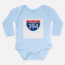 Interstate 394 - MN Long Sleeve Infant Bodysuit