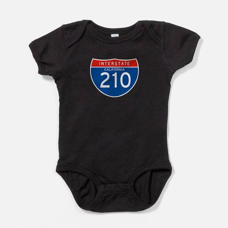 Interstate 210 - CA Baby Bodysuit