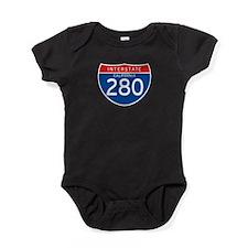 Interstate 280 - CA Baby Bodysuit