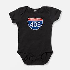 Interstate 405 - CA Baby Bodysuit