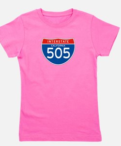Interstate 505 - CA Girl's Tee