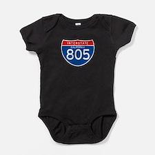 Interstate 805 - CA Baby Bodysuit