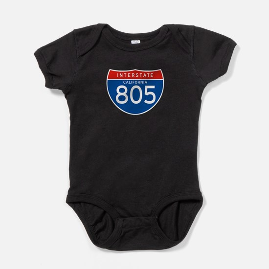 Interstate 805 - CA Baby Bodysuit