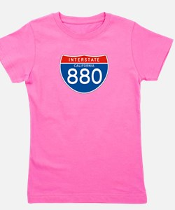 Interstate 880 - CA Girl's Tee