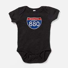 Interstate 880 - CA Baby Bodysuit