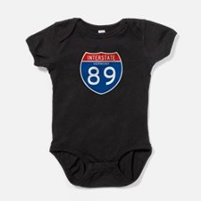 Interstate 89 - VT Baby Bodysuit