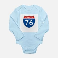 Interstate 76 - PA Long Sleeve Infant Bodysuit
