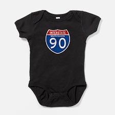 Interstate 90 - SD Baby Bodysuit