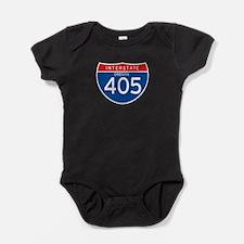 Interstate 405 - OR Baby Bodysuit