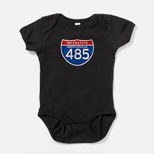 Interstate 485 - NC Baby Bodysuit