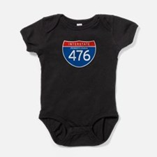 Interstate 476 - PA Baby Bodysuit