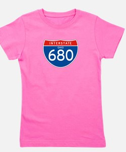 Interstate 680 - OH Girl's Tee