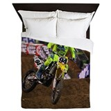 Motocross Queen Duvet Covers