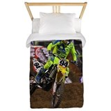 Dirt bike Twin Duvet Covers