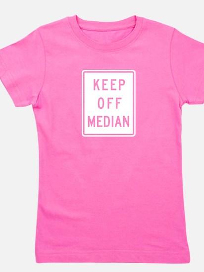 Keep Off Median - USA Girl's Tee