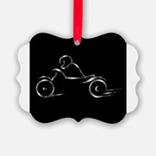 Funny Motor cycle Ornament