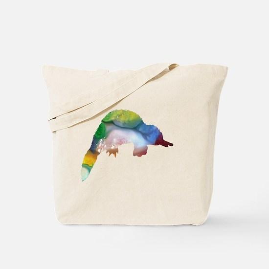 Cute Duckbill platypus Tote Bag
