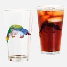 Cute Platypus Drinking Glass