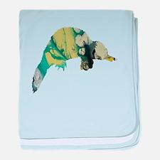 Platypus baby blanket