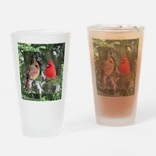 Cardinal Drinking Glass