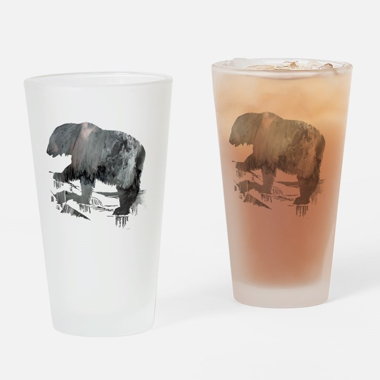 Cute Sells polar bear pictures Drinking Glass