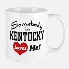 Somebody in Kentucky Loves Me Mug