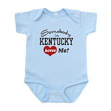 Somebody in Kentucky Loves Me Onesie