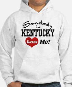 Somebody in Kentucky Loves Me Jumper Hoody