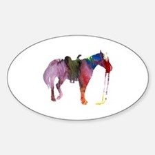 Cute Horse themed women Decal