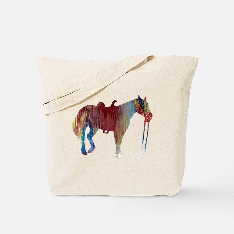 Cute Horse themed Tote Bag