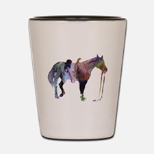 Cool Horse themed Shot Glass