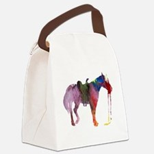 Horse themed Canvas Lunch Bag