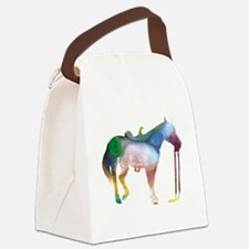 Cool Horse themed Canvas Lunch Bag