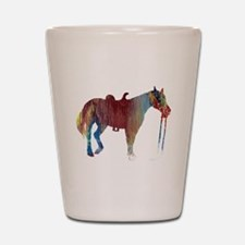 Funny Horse themed Shot Glass