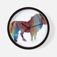 Pony Wall Clock