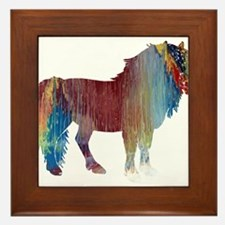 Pony Framed Tile